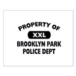 Property of Brooklyn Park Police Small Poster