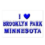 I Love Brooklyn Park Winter Postcards (Package of
