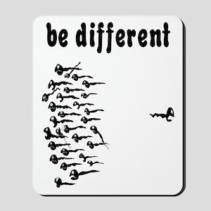 Be Different Sperm Mousepad