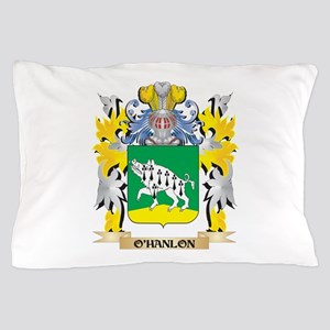 O'Hanlon Family Crest - Coat of Ar Pillow Case