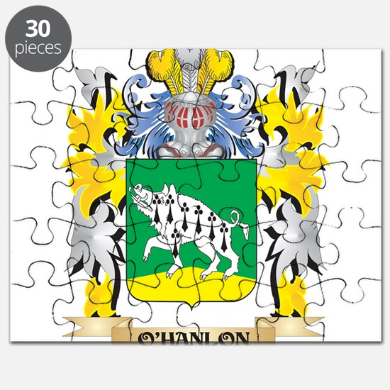 O'Hanlon Family Crest - Coat of Arms Puzzle