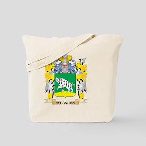 O'Hanlon Family Crest - Coat of Arms Tote Bag