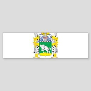 O'Hanlon Family Crest - Coat of Bumper Sticker