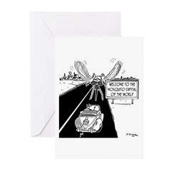 Mosquito Capital of the Greeting Cards (Pk of 20)