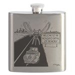 Mosquito Capital of the World Flask