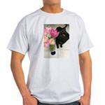 Cat with Tulips T-Shirt