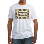 Burnsville Loon Fitted T-Shirt