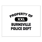 Property of Burnsville Police Dept Small Poster