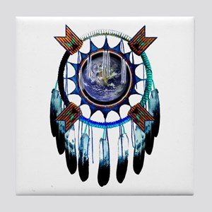 Indian Earth Tile Coaster