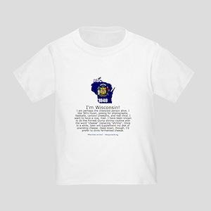 Wisconsin Toddler T-Shirt