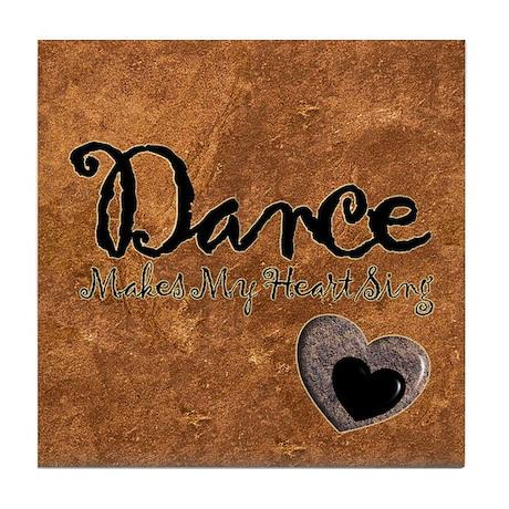 Dance is My Gift Tile Coaster