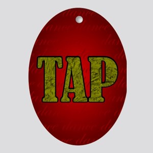Tap Dance Christmas Ornament