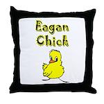 Eagan Chick Throw Pillow