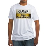 Eagan Beer Drinking Team Fitted T-Shirt