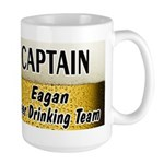 Eagan Beer Drinking Team Large Mug