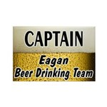 Eagan Beer Drinking Team Rectangle Magnet (100 pac