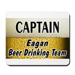 Eagan Beer Drinking Team Mousepad