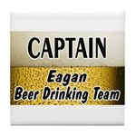 Eagan Beer Drinking Team Tile Coaster