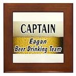 Eagan Beer Drinking Team Framed Tile