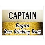Eagan Beer Drinking Team Small Poster
