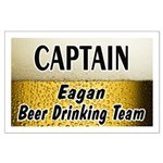 Eagan Beer Drinking Team Large Poster