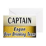 Eagan Beer Drinking Team Greeting Cards (Pk of 10)