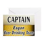 Eagan Beer Drinking Team Greeting Card
