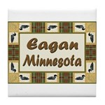 Eagan Loon Tile Coaster