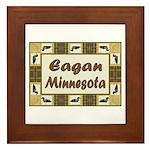 Eagan Loon Framed Tile