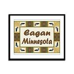 Eagan Loon Framed Panel Print