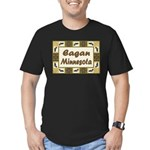 Eagan Loon Men's Fitted T-Shirt (dark)