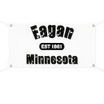 Eagan Established 1861 Banner