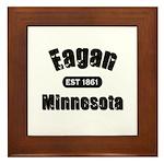 Eagan Established 1861 Framed Tile