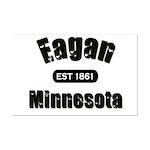 Eagan Established 1861 Mini Poster Print
