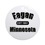 Eagan Established 1861 Ornament (Round)