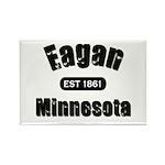 Eagan Established 1861 Rectangle Magnet (10 pack)