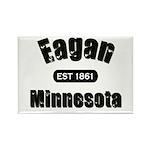 Eagan Established 1861 Rectangle Magnet (100 pack)