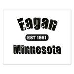 Eagan Established 1861 Small Poster