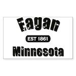 Eagan Established 1861 Rectangle Sticker 10 pk)