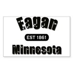 Eagan Established 1861 Rectangle Sticker 50 pk)