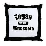 Eagan Established 1861 Throw Pillow