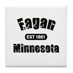 Eagan Established 1861 Tile Coaster