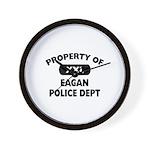 Property of Eagan Police Dept Wall Clock