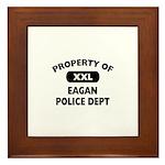 Property of Eagan Police Dept Framed Tile