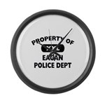 Property of Eagan Police Dept Large Wall Clock