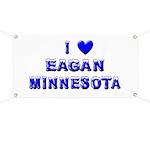 I Love Eagan Winter Banner