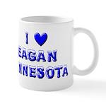 I Love Eagan Winter Mug