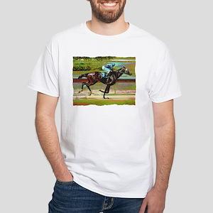 """Rumblin"" White T-Shirt"