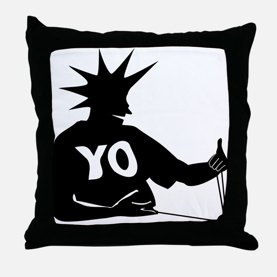 Cute Yoyo Throw Pillow