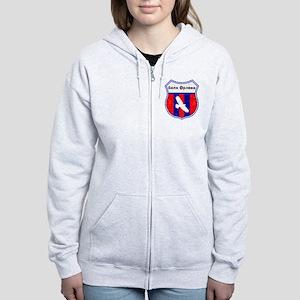 Serbia Women's Zip Hoodie